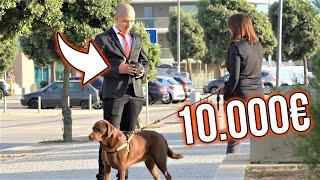 TENTANDO COMPRAR O CÃO DAS PESSOAS COM 10.000€ | numeiro