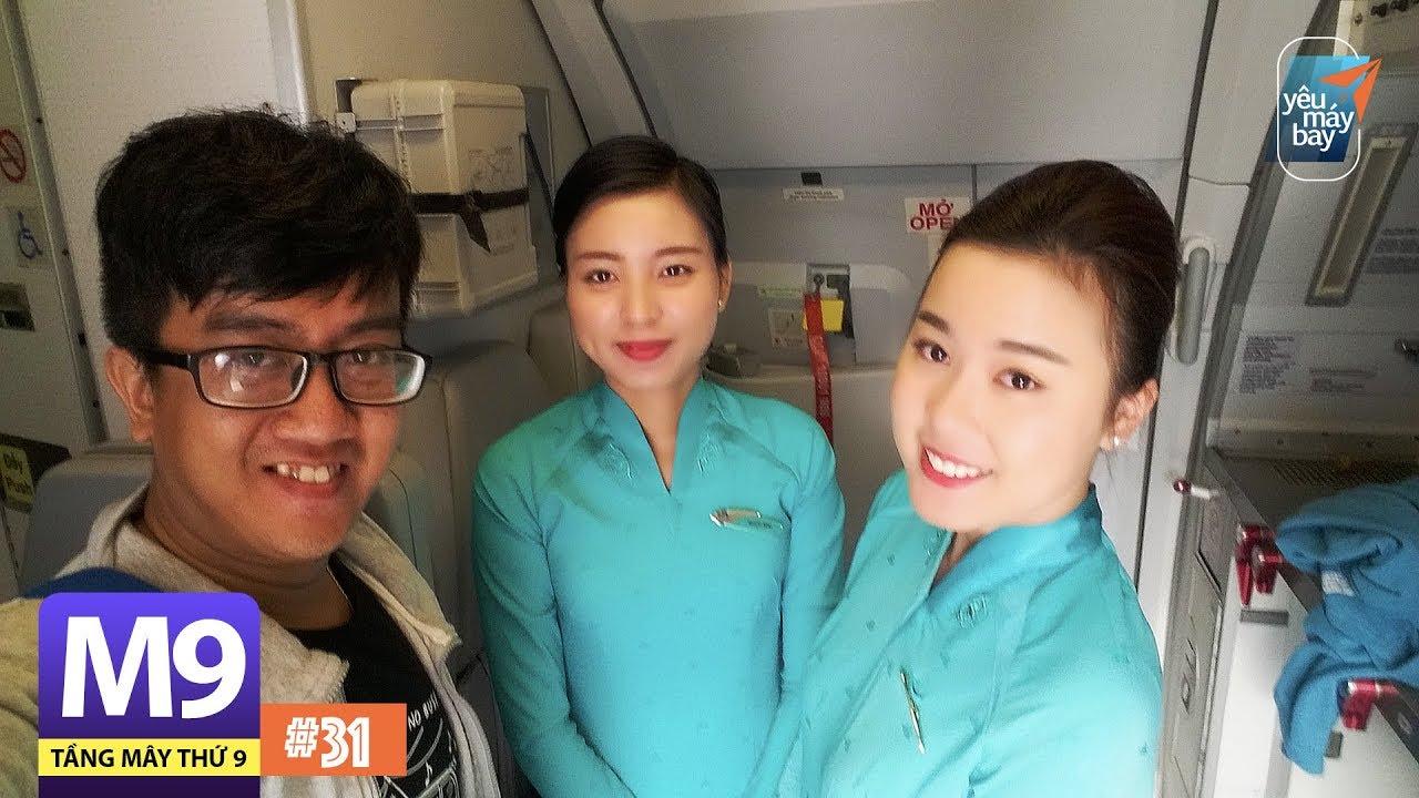 [M9] #31: Chuyến bay 30 phút/Review nhà hàng sân bay Liên Khương, Tân Sơn Nhất | Yêu Máy Bay