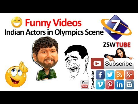 Funny videos of Indian actors   Olympics Scene