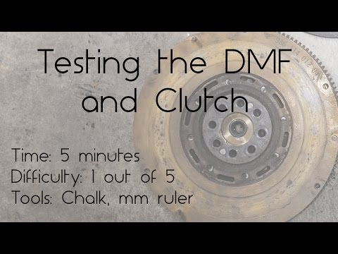 How to test and inspect the clutch and DMF