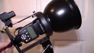 Interfit Strobies Off Camera Flash Review Part 1