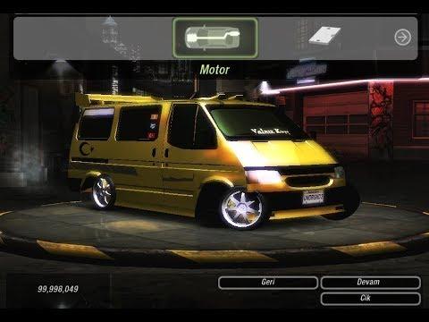 NFS Underground 2 - Ford Transit 1997