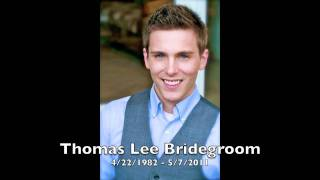 This video contains music that was played during the opening of Tom Bridegroom's memorial service.