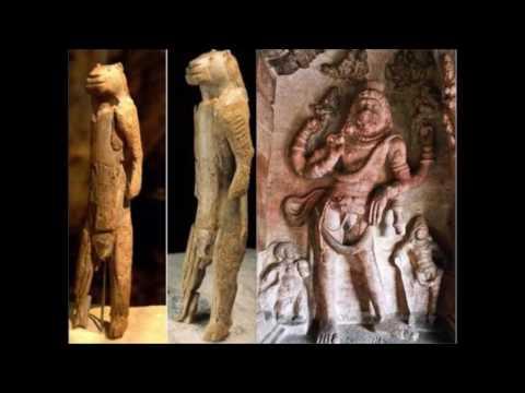 40000 years old Narasimha lion man Idol found in Germany(Hindu God)