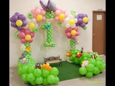 Ý tưởng cổng bóng bay tuyệt đẹp cho ngày sinh nhật bé - 0968.83.0880