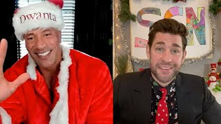 Holiday Special with Dwayne Johnson: Some Good News with John Krasinski