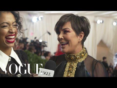 "Kris Jenner on Her ""Average Day"" at the Met Gala | Met Gala 2018 With Liza Koshy | Vogue"