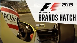 F1 2013 Gameplay - Brands Hatch Nigel Mansell - Classic Edition