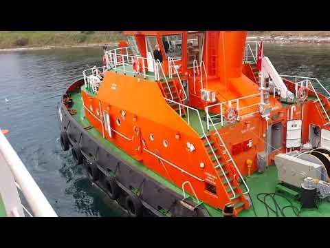 Ozelmarine Gyrocompass Service at port of Marmaraereglisi