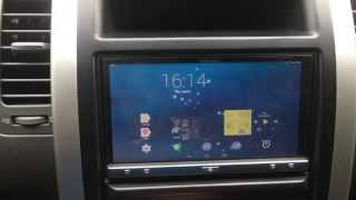 Pioneer SPH-DA110 +android 4.4.2