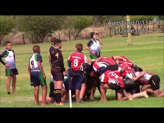 Augsburg Vs Lutzville 0/13A-rugby - 15 Mei 2021