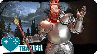CIVILIZATION 6 Germany Gameplay Trailer (2016) PC Game