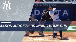 Judge hits his sixth home run of 2018, 62nd of his career
