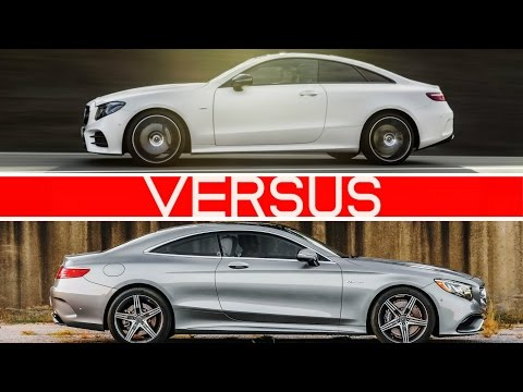 Which One? 2018 E-Class Coupe Vs S-Class Coupe