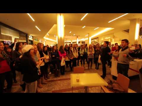 Westfield Southcenter mall Christmas Flash Mob 2012