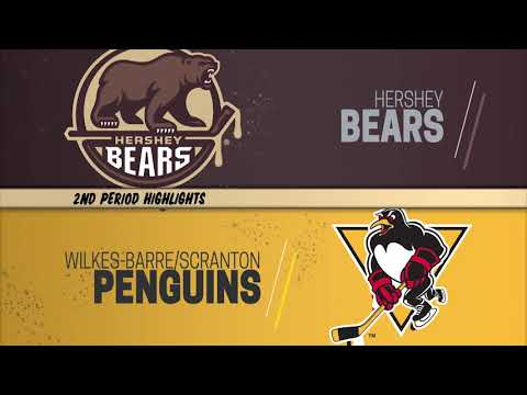 Hershey Bears 3 at Wilkes-Barre/Scranton Penguins 0 (2/7/2020)