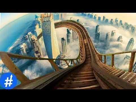 Berani Coba? 10 Roller Coaster Paling DAHSYAT & Tercepat Di Dunia
