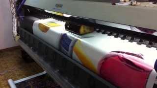 FLORA lj 3208p(Широкоформатная печать 3,2 метра, на оборудовании FLORA lj 3208p, 1200х800 dpi. Собственность ООО