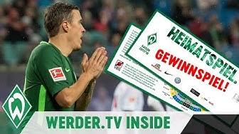 Kein Max Kruse Tor aber Werder-Tickets gewinnen! | WERDER.TV Inside nach RB Leipzig