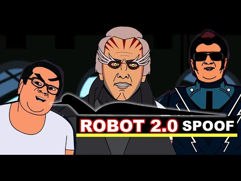 Robot 2.0 Spoof- Akshay kumar, Rajnikant