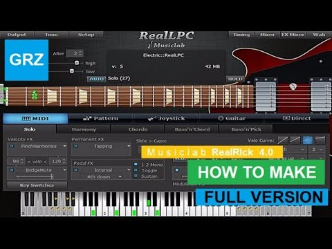 How To Make Full Version Musiclab RealRick v4