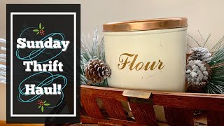 Thrift Haul! Something I Have Never Seen Before | Great Items for My Home Decor