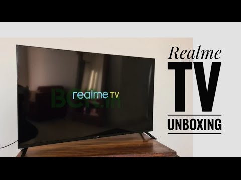 Realme TV unboxing and review 32 inch.