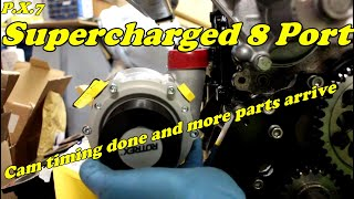 Supercharged Arden 8 Port. Part 7. Build continues and more parts arrive