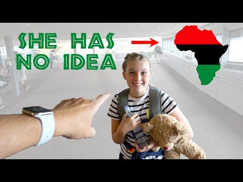 24 HOURS IN AFRICA! (she has no idea)