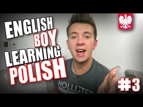 ENGLISH BOY LEARNING POLISH #3