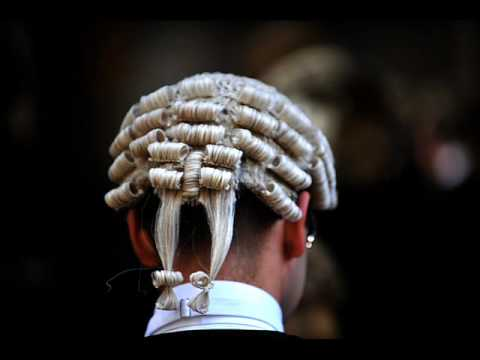 SCOTLANDS law lords braved the elements to mark the annual