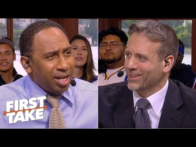 Game 6 predictions: Stephen A. picks the Warriors, Max takes the Raptors | First Take