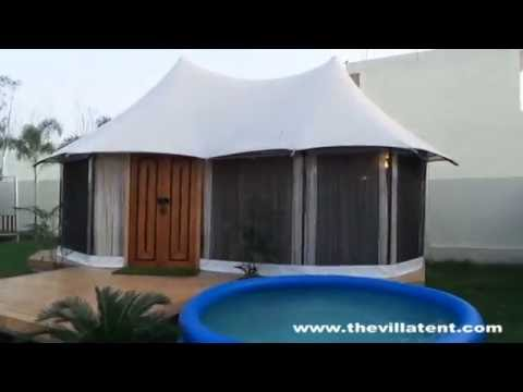 Safari Villa Tent Manufacturer in India | Eco Luxury Wooden Villa Tent Manufacturer in South Africa - YouTube & Safari Villa Tent Manufacturer in India | Eco Luxury Wooden Villa ...