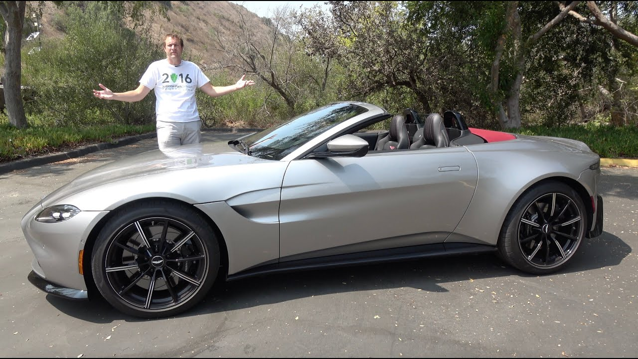 The 2021 Aston Martin Vantage Roadster Is A 200 000 Luxury Sports Car Youtube