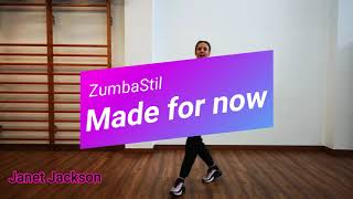 "ZumbaStil: ""Made for now"", Janet Jackson."
