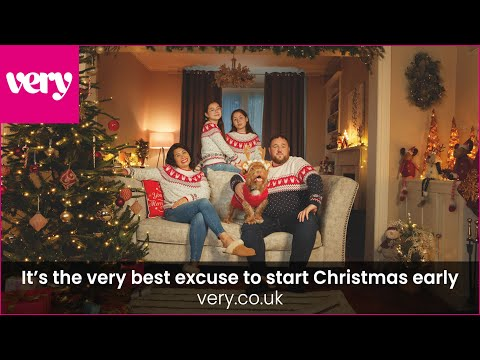 very.co.uk 2021 Christmas advert   It's the very best excuse