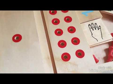 Настольная игра домино Математика Lam Toys 40 деталей