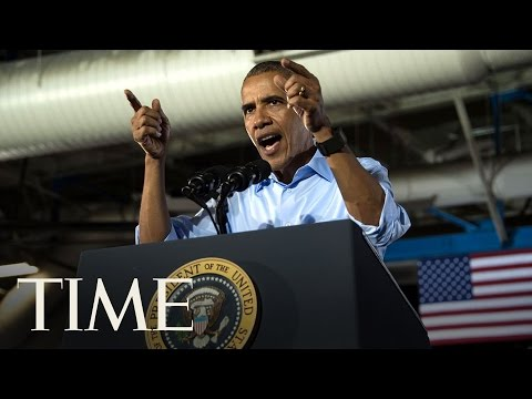 President Obama Takes Aim at Republicans for Sticking By Trump | TIME