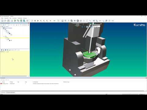 Eureka Virtual Machining - Создание кинематики станка Mikron