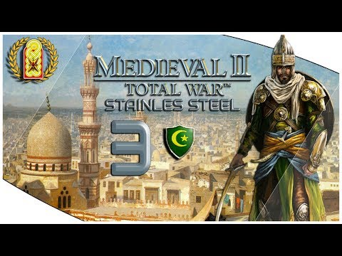 Medieval 2 Total War Stainless Steel Seljuk Empire Rise Campaign | PART 3