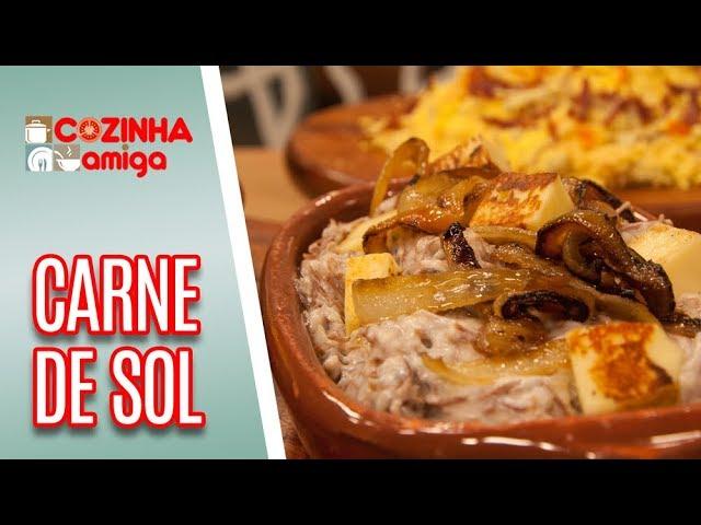 Carne de Sol com Natas - Patrícia Gonçalves | Cozinha Amiga (20/02/19)