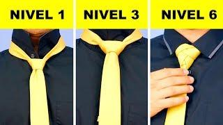 Cómo anudar una corbata