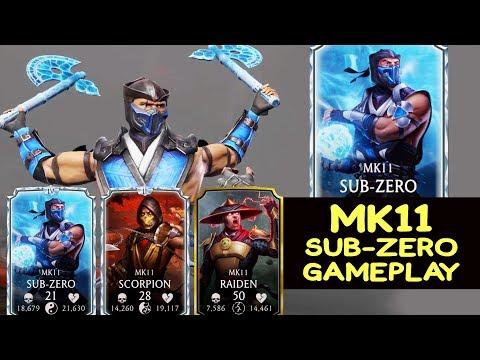 Mortal Kombat Mobile. New Sub-Zero Is INSANE. MK11 Sub-Zero Gameplay In MK11 Team.