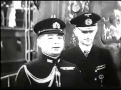 Imperial Japanese Navy submarine visits Germany in 1942