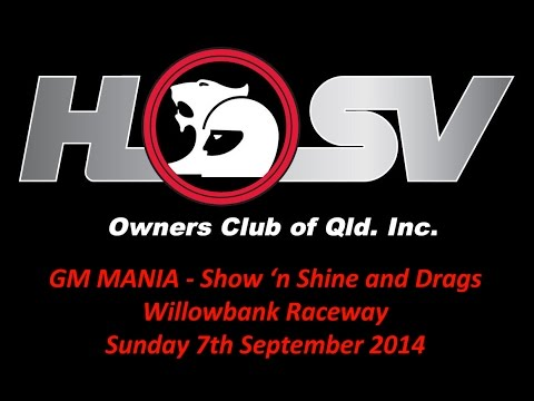 GM Mania 2014 - Willowbank Raceway - Sunday 7th September 2014