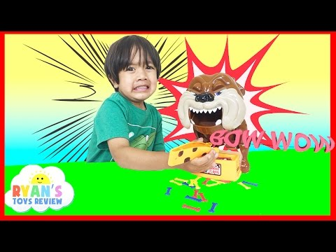 Family Fun Game for Kids Bad Dog Eggs Surprise Opening Toys Cars Learn Colors and Counting Numbers