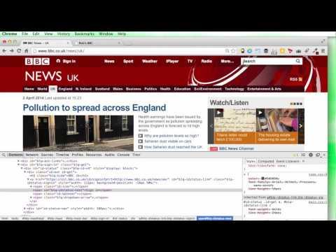 017 CSS Project BBC News Website 2