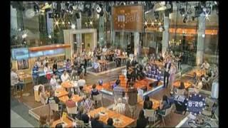 Julia A. Noack live on TV (I) @ ZDF Morgenmagazin, Aug 11, 2010
