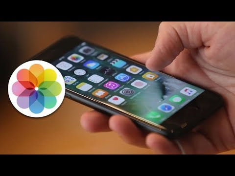 Как удалить все фото в айфоне