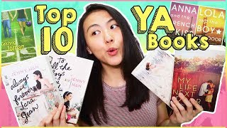 Top 10 Books - 📗TOP 10 Young Adult Books 2018! | Recommendations + HONEST Reviews for Popular Novels | Katie Tracy